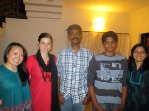 Shamugam and his family
