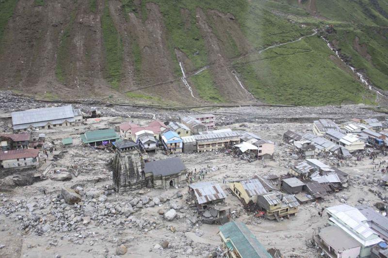 kedarnath shrine saved