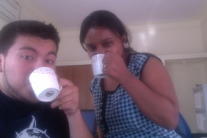 Tea + Priya = Priceless