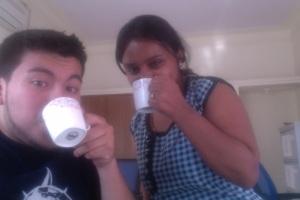 Tea + Priya = Priceless