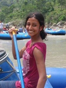 White-water rafting in Nepal!