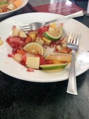 Fruit Salad with Black Pepper and Spices