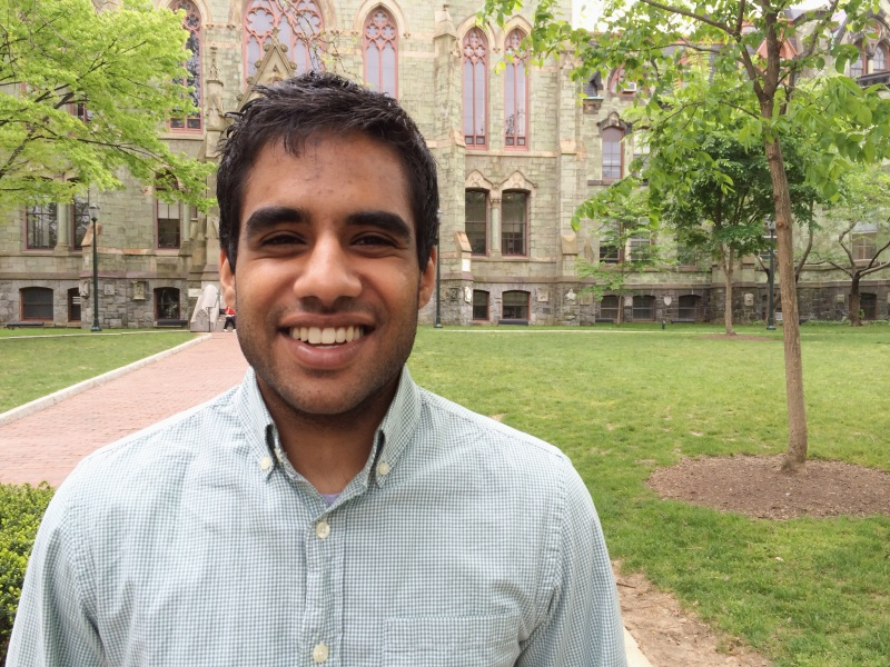 CASI Announces Vignesh Selvakumaran, Sobti Family Fellow, 2014-15