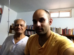 With Professor Makrand Mehta