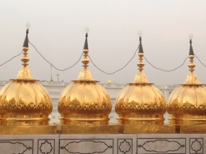 The golden arches as seen from the Golden Temple