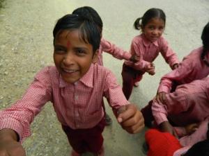 Reetha schoolchildren
