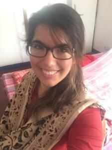 Wearing my new dupatta and kurta from Kumbaya!