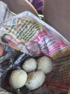 """Essentially India's version of the Brazilian """"Beijinho de Coco,"""" which I was raised off of."""