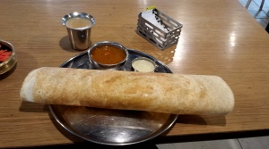 I promise this is my last picture of a dosa