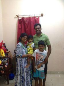 Chitra's family