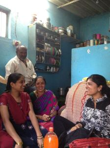 visit to workers' home