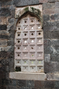 Window at Jahaz Mahal