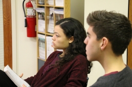 Bevan Pearson and Camilo Toro listen intently!
