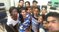 Selfie with the Students at MLN College Workshop 2 Session 2