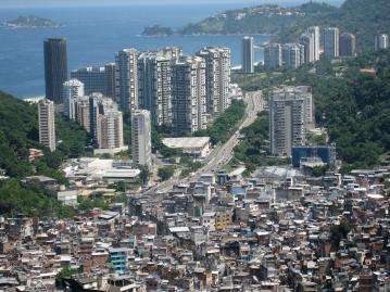 Favela Rocinha in Rio de Janeiro