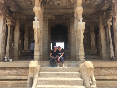 Temple visiting
