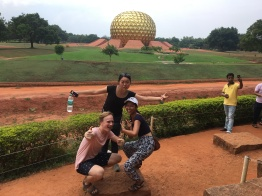 Matrimandir, the center of Auroville!