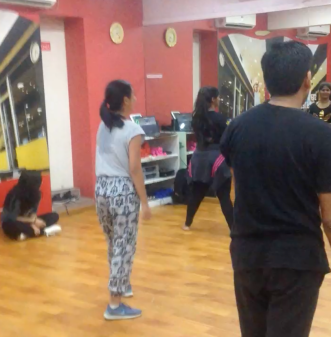 A 2-hour freestyle bollywood dance class that Steph and I tried one weekend!